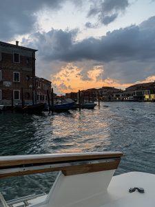 Sunset in Murano